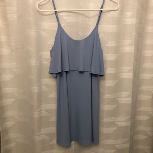 Express Light Blue Dress